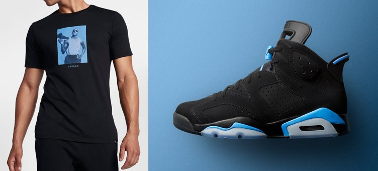"Air Jordan 6 ""UNC"" x Jordan Retro 6 Connection T-Shirt"