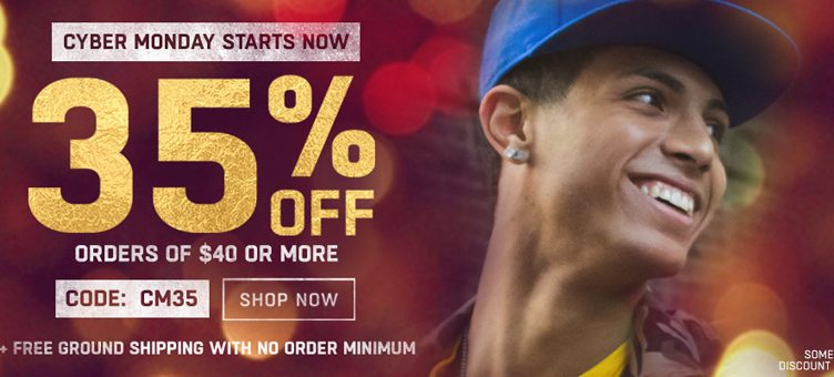 Cyber Monday Sale at Lids – 35% Off Caps