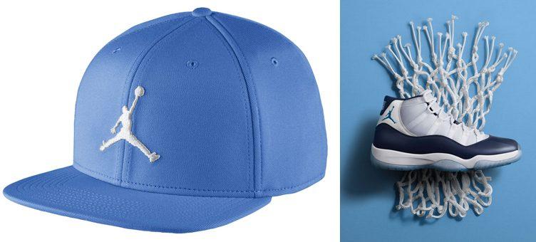 """Air Jordan 11 """"Win Like '82"""" x Jordan Jumpman Snapback Hat"""
