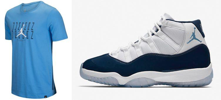"""Air Jordan 11 """"Win Like '82"""" x Jordan Retro 11 Graphic T-Shirt"""