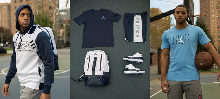 "Air Jordan 11 ""Win Like '82"" Apparel Hook-Ups Available at Footlocker"