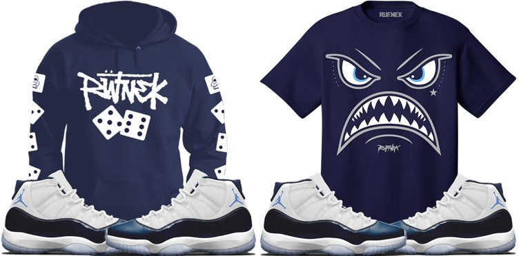 "Original RUFNEK Sneaker Shirts to Match the Air Jordan 11 ""Win Like '82"""