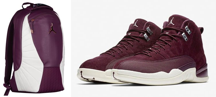 "Air Jordan 12 ""Bordeaux"" Backpack"