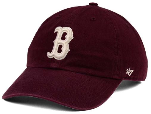 jordan-12-bordeaux-mlb-boston-red-socks-dad-hat