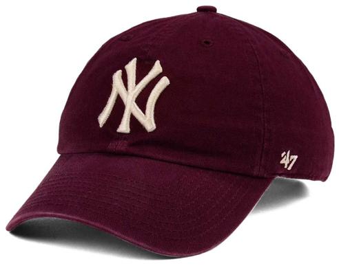 jordan-12-bordeaux-mlb-new-york-yankees-dad-hat