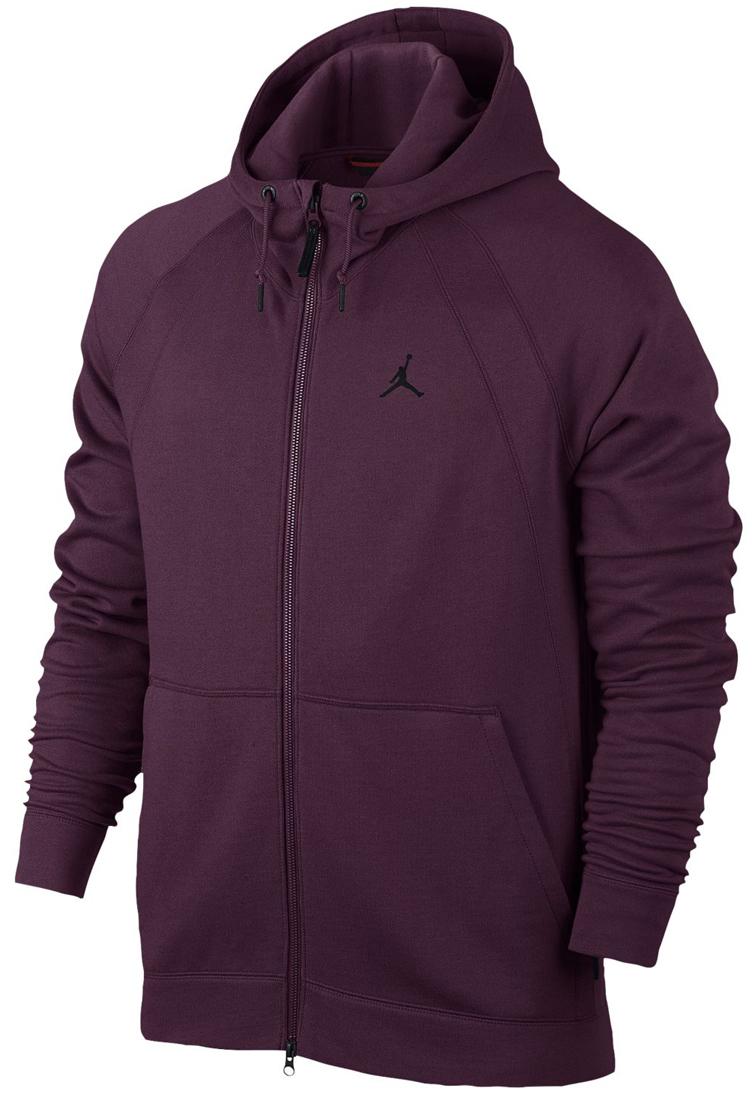 jordan-12-bordeaux-zip-hoodie