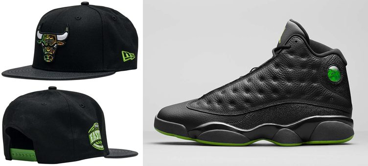 "Air Jordan 13 ""Altitude"" x New Era Chicago Bulls Altitude Hook JJ Exclusive Snapback"