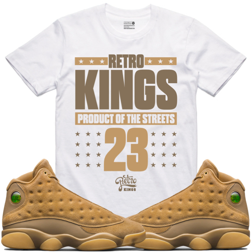 jordan 13 harvest wheat sneaker tees