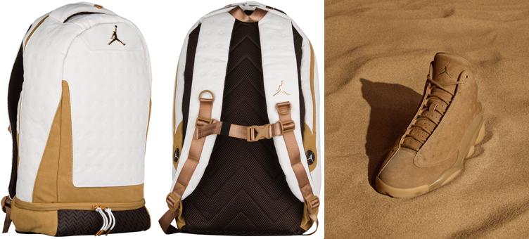 Air Jordan 13 Wheat Backpack  0c91b5db254ce
