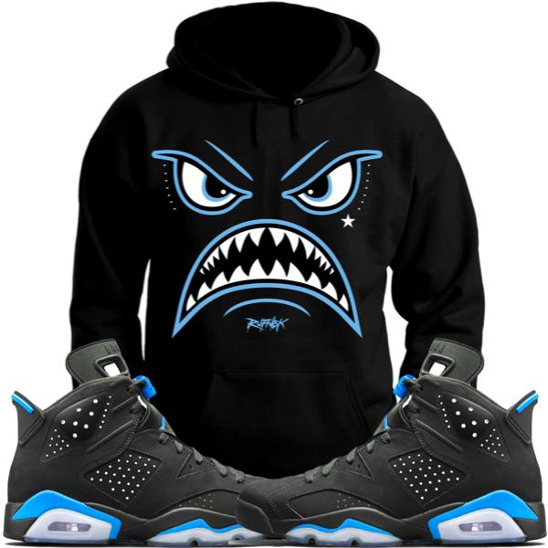 12095b06426ad4 jordan-6-unc-carolina-sneaker-hoodie-match-2