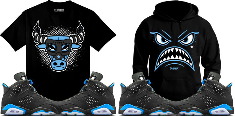 jordan-6-unc-carolina-sneaker-match-shirts