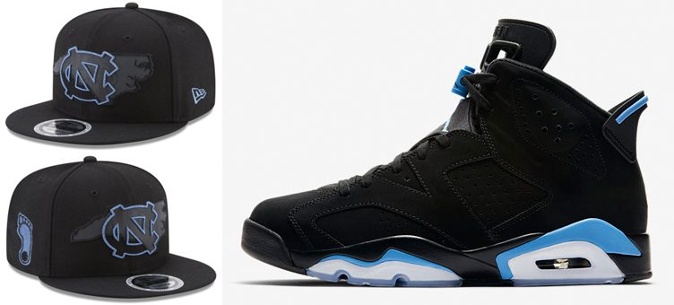jordan-6-unc-new-era-snapback-hat