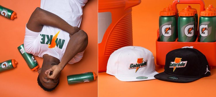 "Jordan x Gatorade ""Like Mike"" Apparel   Accessories Available at Champs  Sports 770c6ab6cca"