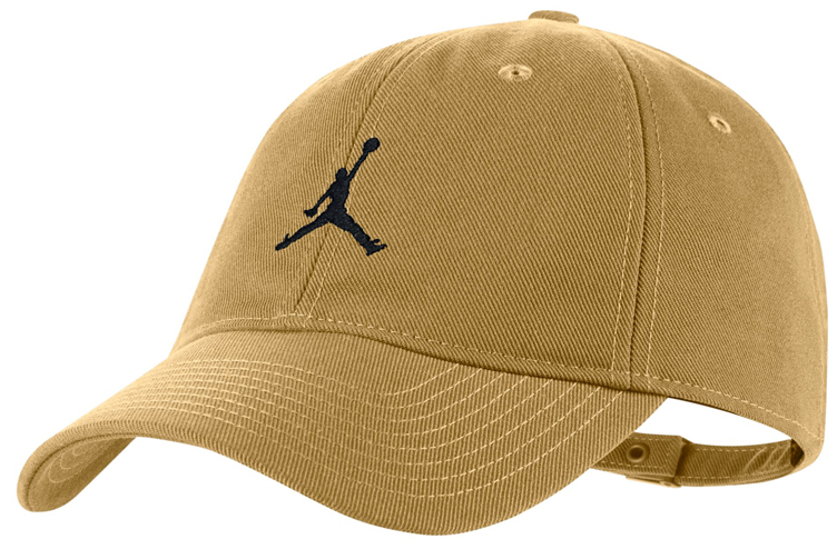 93477e7f754e The Jordan Golden Harvest Strapback Cap is available to buy here. jordan- wheat-strapback-hat-1