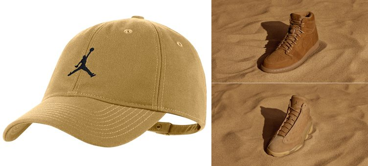 jordan-wheat-strapback-hat