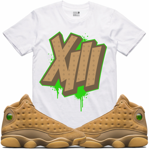 shirt jordan 13 harvest wheat sneaker tees