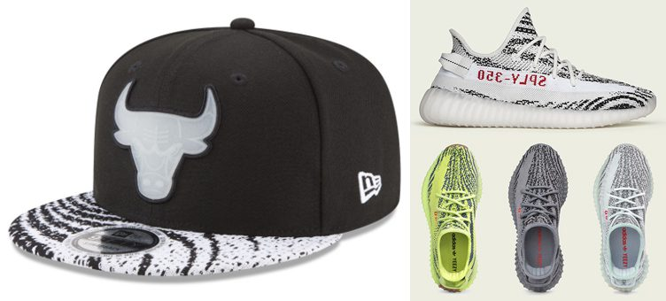 New Era NBA Boost Redux Strapback Caps to Match the Yeezy Boost 350 V2