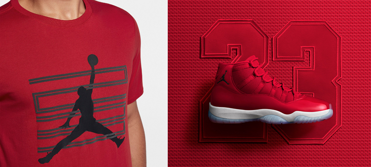 air-jordan-11-gym-red-win-like-96-shirt