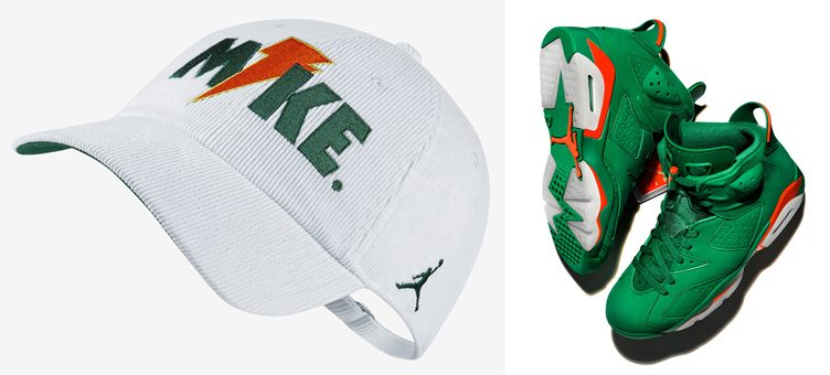 air-jordan-6-green-gatorade-hat