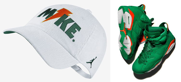 air-jordan-6-green-gatorade-hat