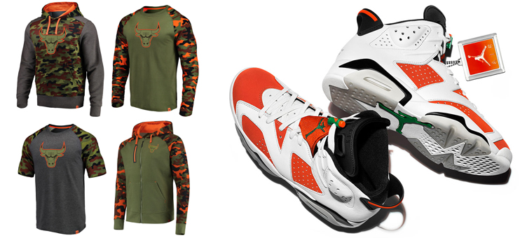 05bb83c096b bulls-clothing-to-match-jordan-6-gatorade. Fanatics Branded has dropped  this new green, orange and black ...