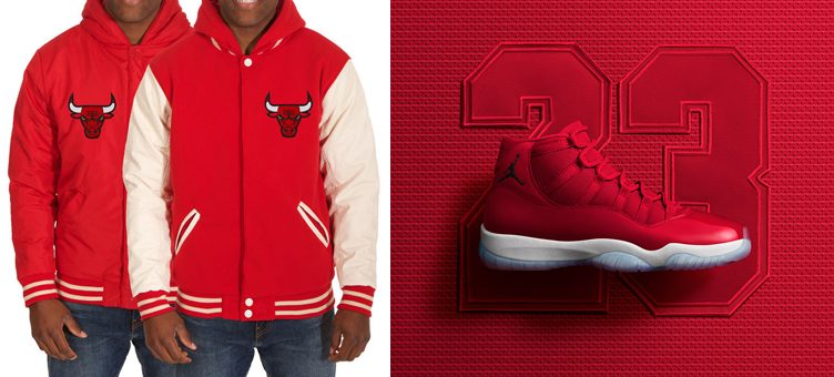 "10 Chicago Bulls Jackets to Match the Air Jordan 11 ""Win Like '96"""