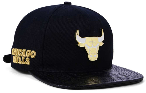 classic fit 1a1a1 61941 chicago-bulls-pro-standard-sneaker-hook-hat-black-