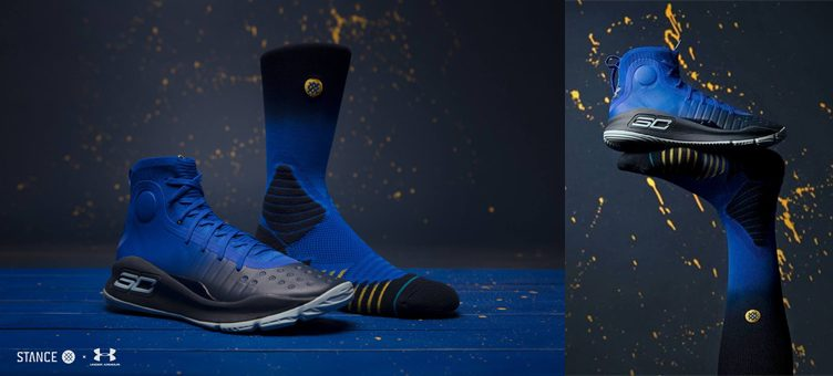UA x Stance SC30 Crew Socks to Match Under Armour Curry 4 Colorways
