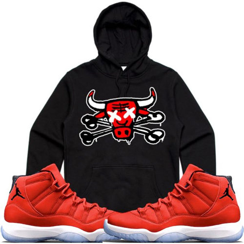 jordan-11-gym-red-96-sneaker-hoodie-retro-kings-2