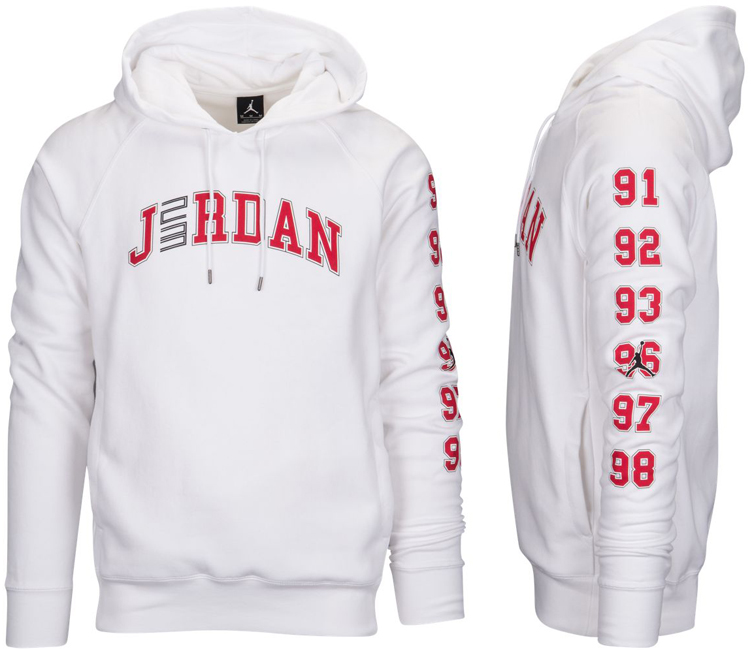 031eab84c59 Air Jordan 11 96 Gym Red Matching Hoodie | SneakerFits.com