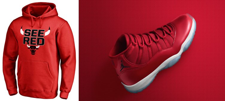 "5 Chicago Bulls Hoodies to Hook with the Air Jordan 11 ""Win Like '96"""