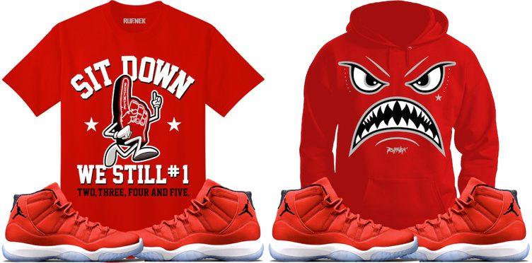 the best attitude 40cce a0982 jordan-11-win-like-96-gym-red-sneaker-