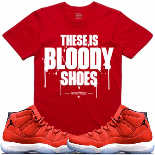 jordan-11-win-like-96-gym-red-sneaker-tee-shirt-2