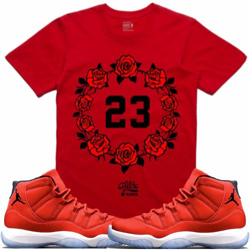 jordan-11-win-like-96-gym-red-sneaker-tee-shirt-3