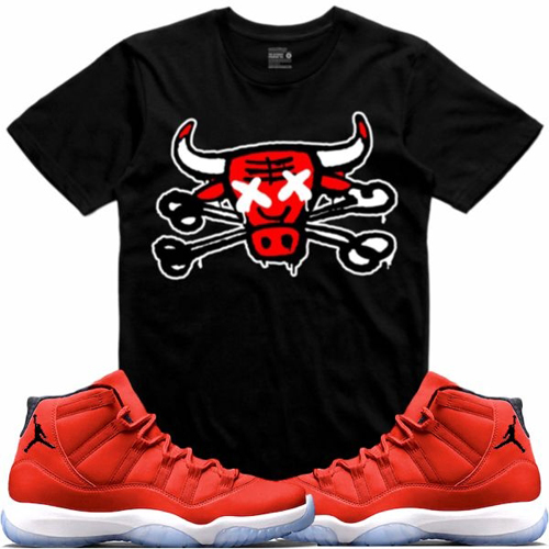 jordan-11-win-like-96-gym-red-sneaker-tee-shirt-5