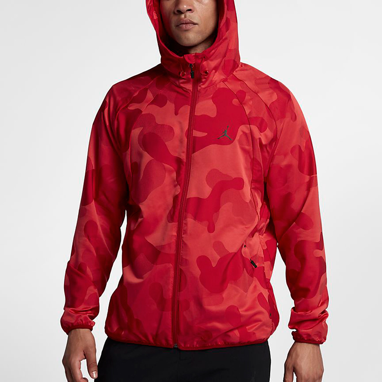 425f0611f4 Jordan 11 Win Like 96 Red Camo Jacket | SneakerFits.com