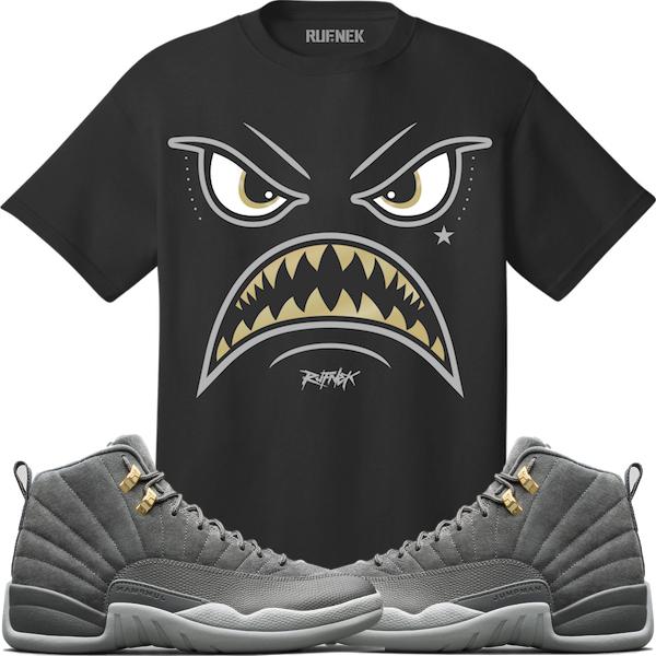 jordan-12-dark-grey-sneaker-tee-shirt-rufnek-3