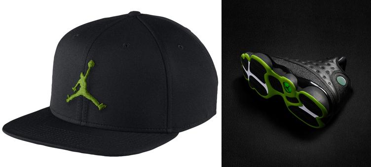 jordan-13-altitude-green-black-hat