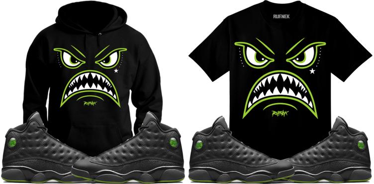 jordan-13-altitude-sneaker-match-shirts
