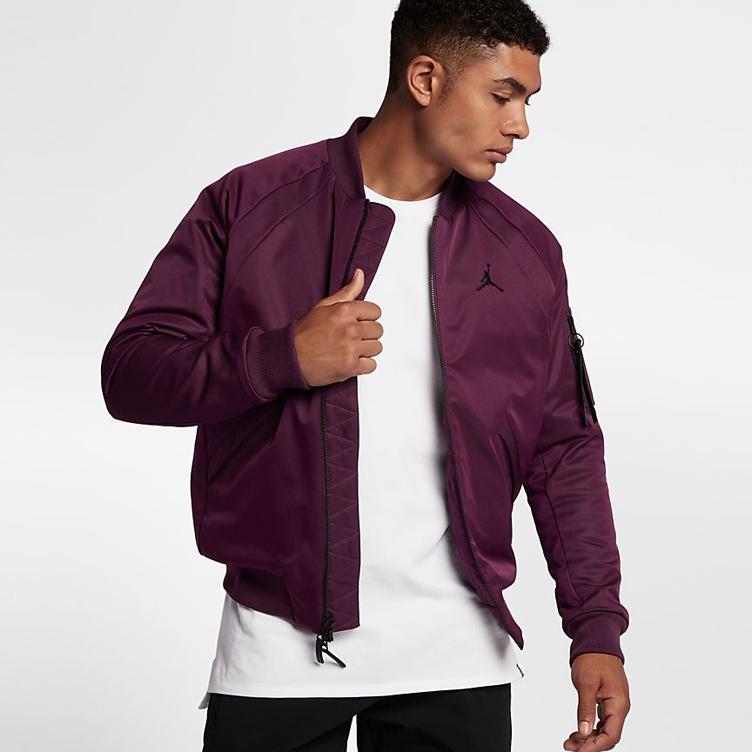 43a4ca46b95c72 Jordan 5 Premium Bordeaux Matching Jacket
