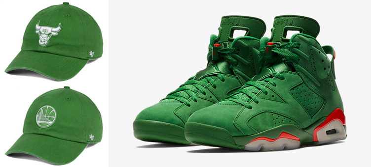 69b92fb11d0e6 Jordan 6 Gatorade Green NBA Hats