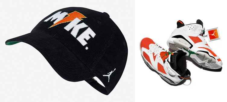 "Air Jordan 6 ""Gatorade"" x Jordan Like Mike Corduroy Strapback Cap 3a551c3b05f"