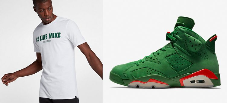 "Jordan Like Mike Shirts to Match the Air Jordan 6 ""Gatorade Green"""