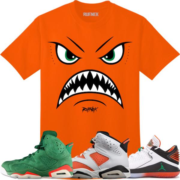 679515d650598c Sneaker Shirts to Match Jordan 6 Gatorade