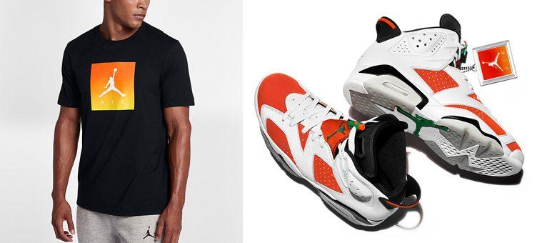 """ba465ed1534 Air Jordan 6 """"Gatorade"""" x Jordan Like Mike Jumpman Air T-Shirt"""