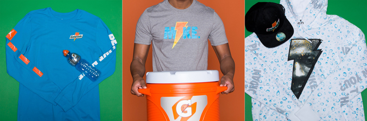 "6a2dd32a2375 Jordan x Gatorade ""Like Mike"" Blue Lagoon Apparel Now Available"