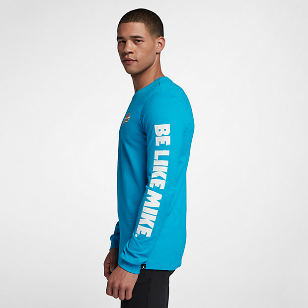 96b81b38b0b4b7 jordan-like-mike-blue-gatorade-long-sleeve-shirt-