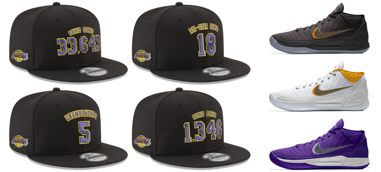 nike-kobe-retirement-hats-and-sneakers-to-match. Commemorating the Black  Mamba s jersey retirement c36f32c7de10