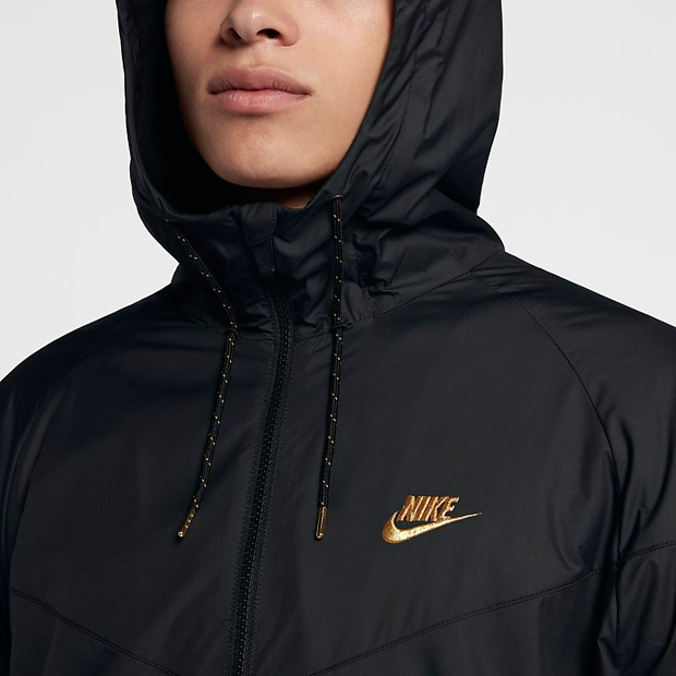 Jacket Max 90 Air Nike And Gold Match Black 9IW2EDH
