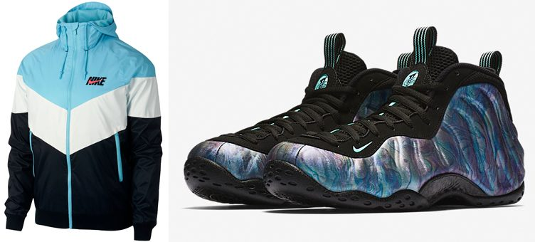 "Nike Air Foamposite One ""Abalone"" x Nike Sportswear Windrunner GX Jacket"